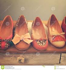 Vintage Fashion Shoes Royalty Free Stock Photo