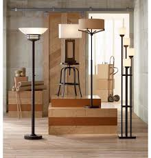 72 Bronze Torchiere Floor Lamp by Light Tree Four Light Bronze Torchiere Floor Lamp