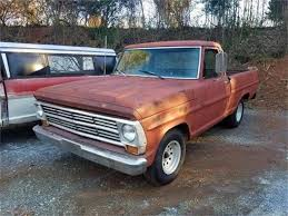 100 1969 Ford Truck For Sale F100 For ClassicCarscom CC1187814