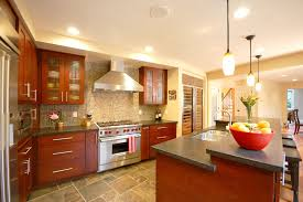 patterned flagstone kitchen contemporary with slate tile san