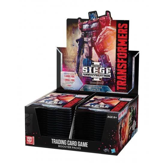 Transformers Tcg: War for Cybertron Siege I Booster Box Card Game