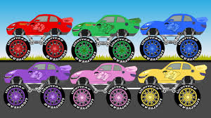 Coloring Hulk Monster Truck - Learn Colors With Monster Trucks For ... Monster Truck Chaing Tires How Its Done Youtube Bigfoot Presents Meteor And The Mighty Trucks E 49 Teaching Collection Vol 1 Learn Colors Colours Cheap Find Deals On Line At Alibacom Trucktown In Real Life 2018 All Characters Cartoon Available Eps Stock And The S Tv Show 19 Video 43 Living Legend 4x4 Truck Episode 29