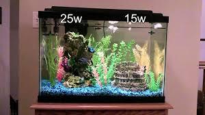 comparing bulb lighting for freshwater tanks