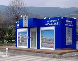 bureau de vente immobilier ipp habillage de bureaux de vente