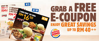 Burger King Coupon Promotion July 2018 - CouponMalaysia.com Burger King Has A 1 Crispy Chicken Sandwich Coupon Through King Coupon November 2018 Ems Traing Institute Save Up To 630 With All New Bk Coupons Till 2017 Promo Hhn Free Burger King Whopper Is Doing Buy One Get Free On Whoppers From Today Craving Combo Meal Voucher Brings Back Of The Day Offer Where Burger Discounted Sets In Singapore Klook Coupons Canada Wix Codes December