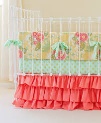 Teal And Coral Baby Bedding by Nursery Beddings Coral Baby Bedding Uk Together With Coral And