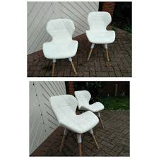 BRAND NEW Set Of 2 White Padded Chair For Sale | In Sutton Coldfield, West  Midlands | Gumtree Best Chairs Sutton Swivel Glider Moondust Babys R Us Rocking Chair Redm2 Moes Whosale Eames Vitra Style And A Half Ottoman Cant Miss Deals On Red Barrel Studio Manual Rocker Antiques Atlas Bentwood Wingback Convertible In Dove Mid Century Styles Place Ii Recling Cp221pbmrrc Rowe Fillmore 7 Pc Sling Outdoor Ding Set