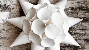 DIY Paper Water Cooler Cup Star