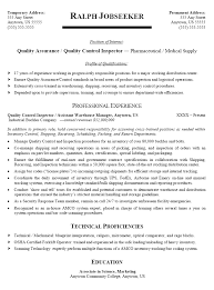 Quality Control Inspector Resume Sample April Onthemarch Co Rh Pipeline Welding Example