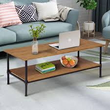 Off White Coffee Table With Drawers