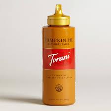 Fontana Pumpkin Spice Sauce by Torani Syrup World Market