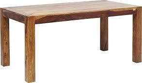 kare design tisch authentico esszimmertisch esstisch holztisch massivholztisch tisch aus holz h b t 75x200x100cm