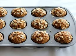 Pumpkin And Cake Mix Muffins Weight Watchers by Low Fat Pumpkin Oatmeal Chocolate Chip Muffins Ambitious Kitchen