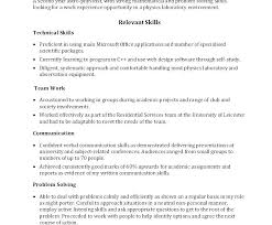 Technology Resume Examples Communication Skills On Information Sample Technical