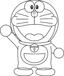 Cartoon Coloring Pages Doraemon