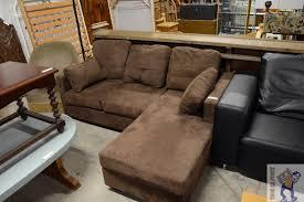 canape d angle alcantara canapé d angle alcantara brun troc en stock