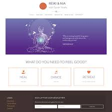 Reiki Nia With Sarah Varela HealthHosts Web Design For Therapists