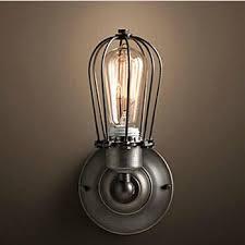 max 80w retro vintage loft industrial wall l with 2 lights bulb