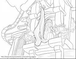 Surprising Tangled Rapunzel Tower Coloring Page With Pages And Online