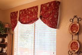 Kitchen Valance Curtain Ideas by Kitchen Excellent Red Kitchen Valances Curtains Windows Red
