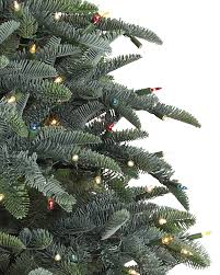 10 Noble Fir Artificial Christmas Tree by Noble Fir Christmas Trees Balsam Hill