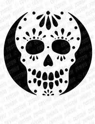 Spiderman Pumpkin Carving by Pumpkin Stencil Sugar Skull Carving Crafts Downloadable By