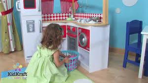 Kidkraft Grand Gourmet Corner Kitchen Play Set by Red Grand Gourmet Corner Kitchen 53225 On Vimeo