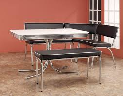 Image Of Perfect Vintage Metal Kitchen Table