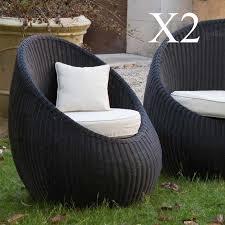 fauteuil de jardin pas cher en résine inspiration pour jardin