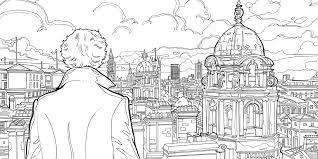 Sherlock The Mind Palace Free Colouring Downloads