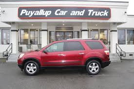 100 Acadia Truck Used 2010 GMC SL AWD 3RD ROW SEATING In Puyallup WA