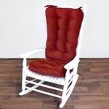 100 Greendale Jumbo Rocking Chair Cushion Home Fashions Set