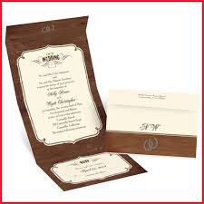 Western Wedding Invitations 80483 Rustic Seal And Send Invitation