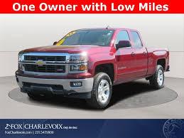 100 Used Trucks For Sale In Michigan 2015 Chevrolet Silverado 1500 Charlevoix MI