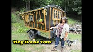 100 Gypsy Tiny House On Wheels Tour YouTube