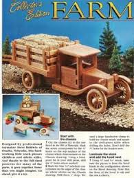 wooden toy truck baby toy wood toy truck plain wood gift for