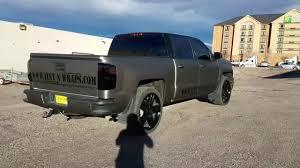 100 Cost To Wrap A Truck SILVERDO MTTE METLLIC GRIGIO ND GLOSS BLCK VINYL WRP YouTube