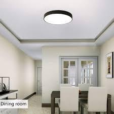 Ganeed LED Ceiling Lights Modern Ceiling Lamp24W 12Inch Round Flush Mount Lighting FixtureKitchen Light FixtureCeiling Lighting For Dining Room