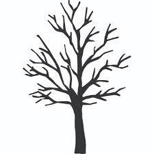 7 Best Images Of Bare Tree Coloring Page