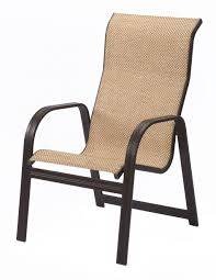Stack Sling Patio Chair Turquoise by Outdoor Sling Chair Home Design Ideas And Pictures