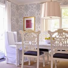 Shining Ideas Wallpaper Dining Room Chair Rail Enchanting With And Lamp White