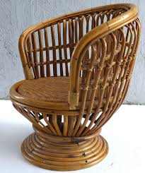 Rattan Swivel Chair – Realtorpro