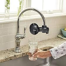 Pur Faucet Mount Refills by Amazon Com Pur Pfm100b Black Horizontal Water Filtration Faucet