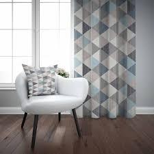 us 38 99 anderes braun grau blau ethnische dreieck geometrische nordec 3d drucken wohnzimmer schlafzimmer fenster panel vorhang kombinieren geschenk