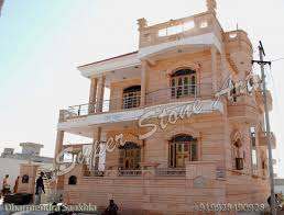 Front Elevation Designs,jodhpur Sandstone, Jodhpur Stone Art ... Double Story Home Elevation Design Gharexpert Home Elevation Design Appliance First Floor Homes Zone Archives Decorating Remodeling Ideas Resultado De Imagen Modern House Front Designs Kerala Photos For Ground With Designs Images Modern House Front Software Youtube New Duplex Exterior In India