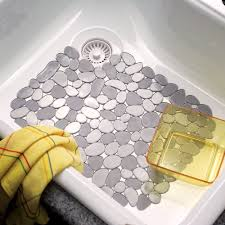 Sink Protector Mat Uk by Save 20 Pebble Sink Mat Bligli Transparent Pvc Eco Friendly