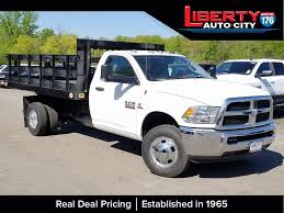 100 Regular Cab Truck New 2018 Ram 3500 Stake Bed For Sale In Libertyville IL 618189