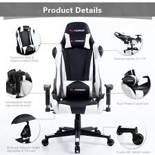 Details About GTFORCE PRO FX RECLINING SPORTS RACING GAMING OFFICE DESK PC  CAR LEATHER CHAIR Costco Gaming Chair X Rocker Pro Bluetooth Cheap Find Deals On Line Off Duty Gamers Maxnomic Dominator Gamingoffice Gaming Chair Star Trek Edition Classic Office Review Best Chairs Ever Maxnomic By Needforseat Brazen Shadow Pc Chairs Amazoncom Pro Breathable Ergonomic Rog Master Akracing Masters Series Luxury Xl Blue Esport L33tgamingcom Vertagear Pline Pl6000 Racing
