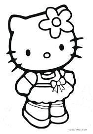 Christmas Kitten Coloring Sheets Printable Kitty Pages Cat Sheet Puppy Princess Birthday Bad Cute Free