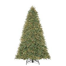 Real Christmas Trees Kmart by Holiday Living 9 Ft Pre Lit Mckinney Fir Artificial Christmas Tree